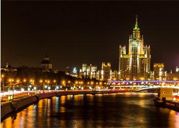 Власти выделят более 1,5 миллиардов рублей на подсветку улиц Москвы