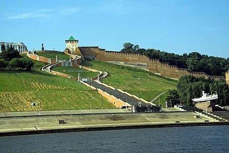 Panorama of the Nizhny Novgorod Kremlin
