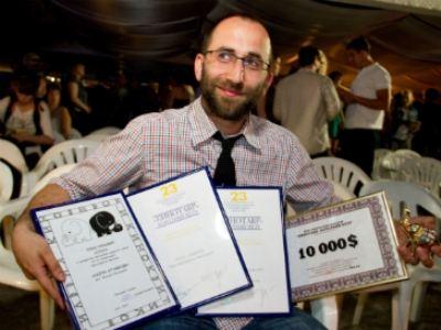 Обладатель приза за лучшую короткометражку 2012 года Михаил Местецкий