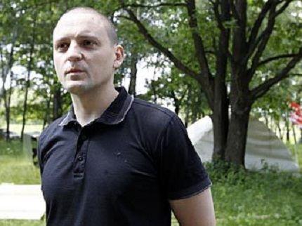 Политический деятель Сергей Удальцов