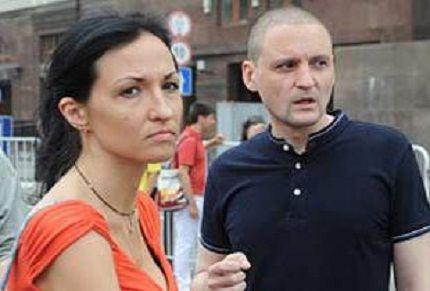 Сергей Удальцов с женой
