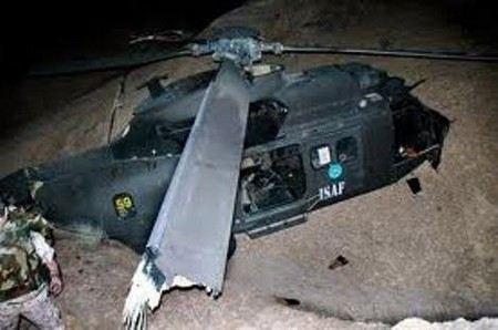 В Афганистане потерпел крушение вертолет НАТО.