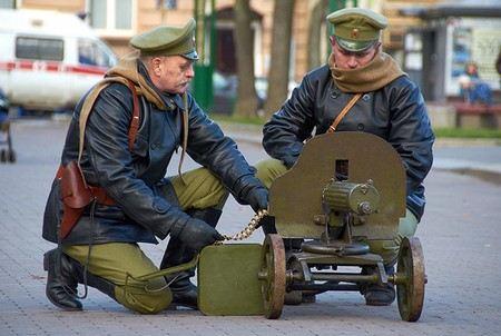 В России возродили Преображенский полк.