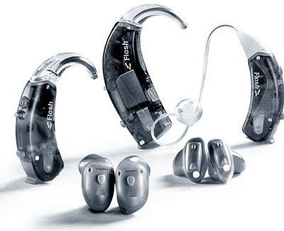 Основные типы слуховых аппаратов