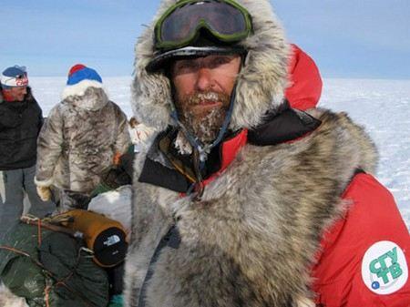 Федор Конюхов провалился под лед в Арктике