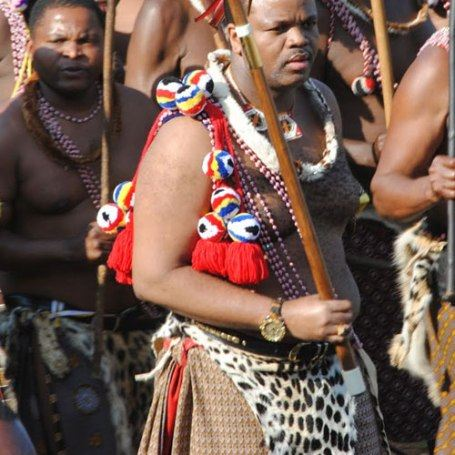 Король Свазиленда Мвази III