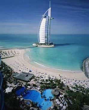Самый высокий в мире отель в Дубаи