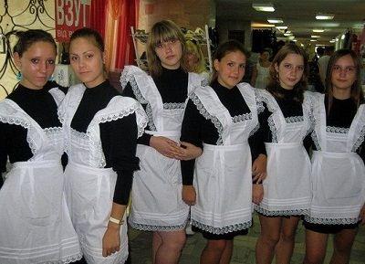Парадная школьная одежда для девочек
