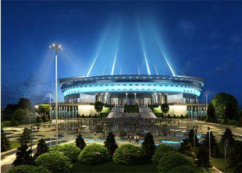 Летом начнут строит крышу над «Зенитом»