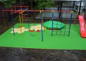 Детская площадка обойдется в 50 000 рублей