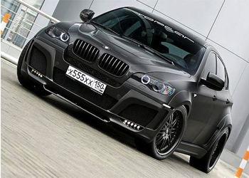 Дебютный показ новейшего BMW X6 состоится на Московском международном автосалоне