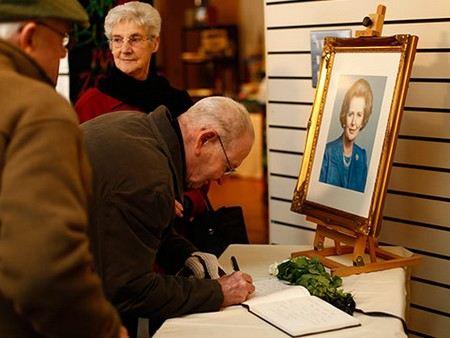 В Лондоне закончилась подготовка к похоронам Маргарет Тэтчер.