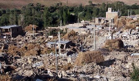 В Иране произошло новое землетрясение.