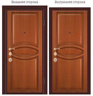 Стальные двери серии «Престиж» популярны среди населения