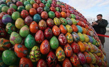 Яйцо - символ Пасхи