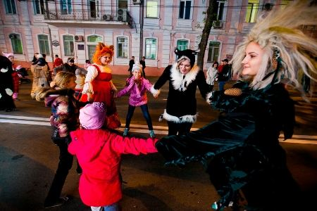 Карнавал в Краснодаре