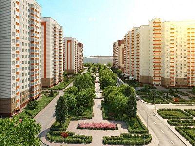 Жилой комплекс в Новой Москве