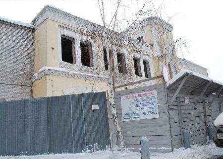 Объект культурного наследия восстанавливается