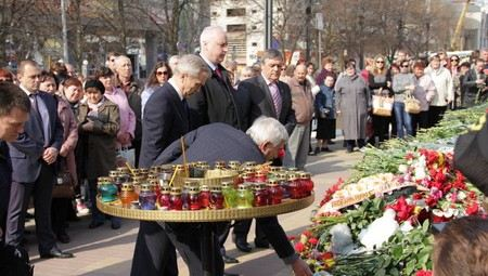 Глава СКР Александр Бастрыкин прибыл в Белогород для расследования трагедии, в которой погибли 6 человек.