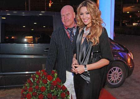 Анжелика Агурбаш с бывшим супругом