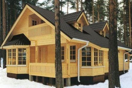 Деревянные дома в Уфе строят массово