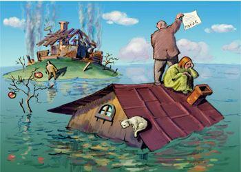 В РФ может появиться закон об обязательном страховании имущества граждан от последствий стихийных бедствий