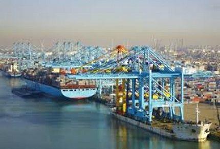 Самый большой порт в Европе