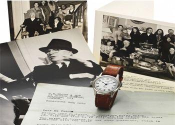 В начале 60-х годов Чаплин подарил часы своей секретарше мисс Руби