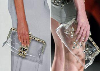 Этим летом в моде прозрачные сумки