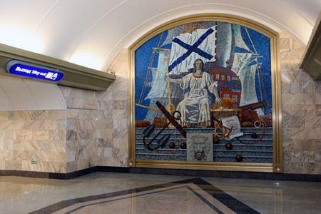 Между станциями метро «Адмиралтейская» и «Спортивная» в Санкт-Петербурге ночью будут ходить поезда.