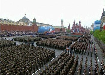В 2013 году празднование 68-й годовщины Дня Победы в ВОВ в столице России прошло с размахом