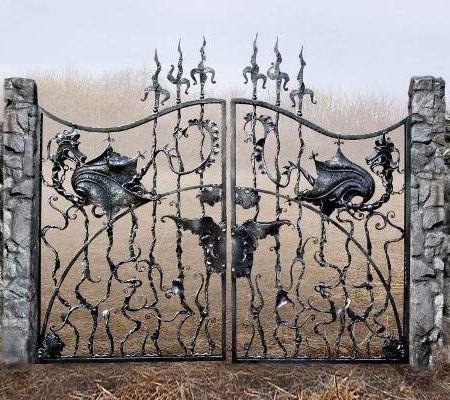 художественная ковка ограда