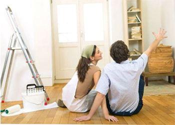 Ремонт нужно начать в таком порядке: потолок, стены, пол