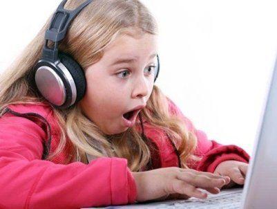 Детей поглотили социальные сети