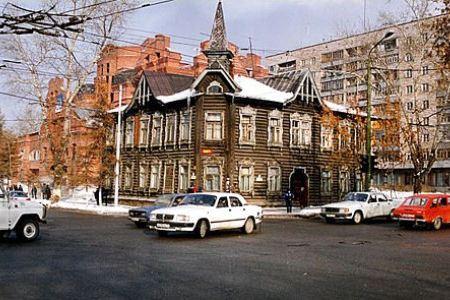 Деревянные здания - достояние Томска