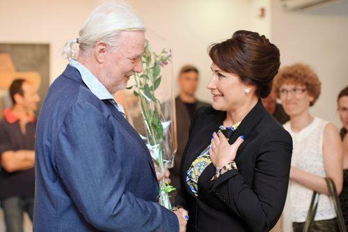 Вилли Л'Эплаттенье и Лада Фирташ (жена бизнесмена Дмитрия Фирташа)