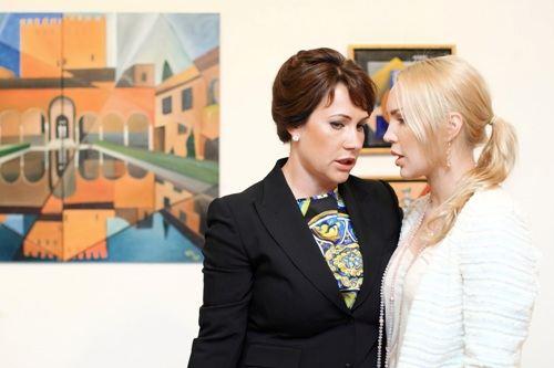 Лада Фирташ и Екатерина Суркис