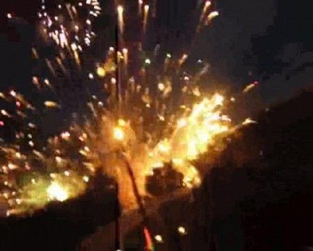 В Китае взорвался завод по производству взрывчатки.
