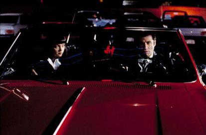 Uma Thurman and John Travolta starred in this car.