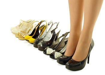 Обувь должна комфортно сидеть на ногах