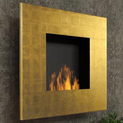 Камин Quadro Gold