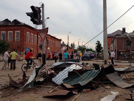 Глава МЧС распорядился выполнить все восстановительные работы в Ефремове в течение трех дней.