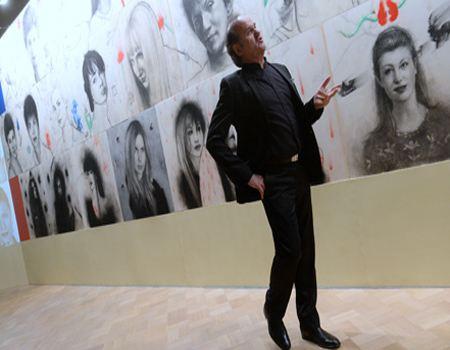 В Москве представили самый крупный в мире рисунок