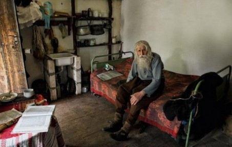 Дедушка Добри живет в деревне Баилово в скромном домике