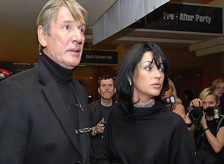 Alexander Abdulov and his wife