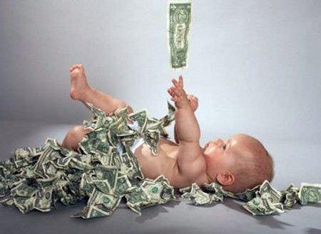 Опубликован рейтинг самых богатых российских детей.
