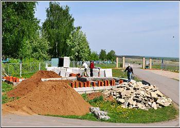 В Менделеевске начали строительство новой церкви