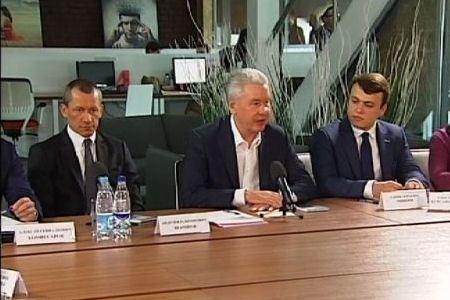 Встреча С.Собянина с московскими предпринимателями