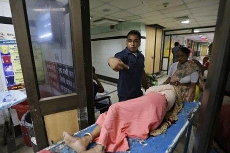В Индии не выпускают из больницы 75-летнюю россиянку.
