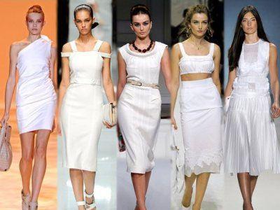 Белый цвет не выходит из моды